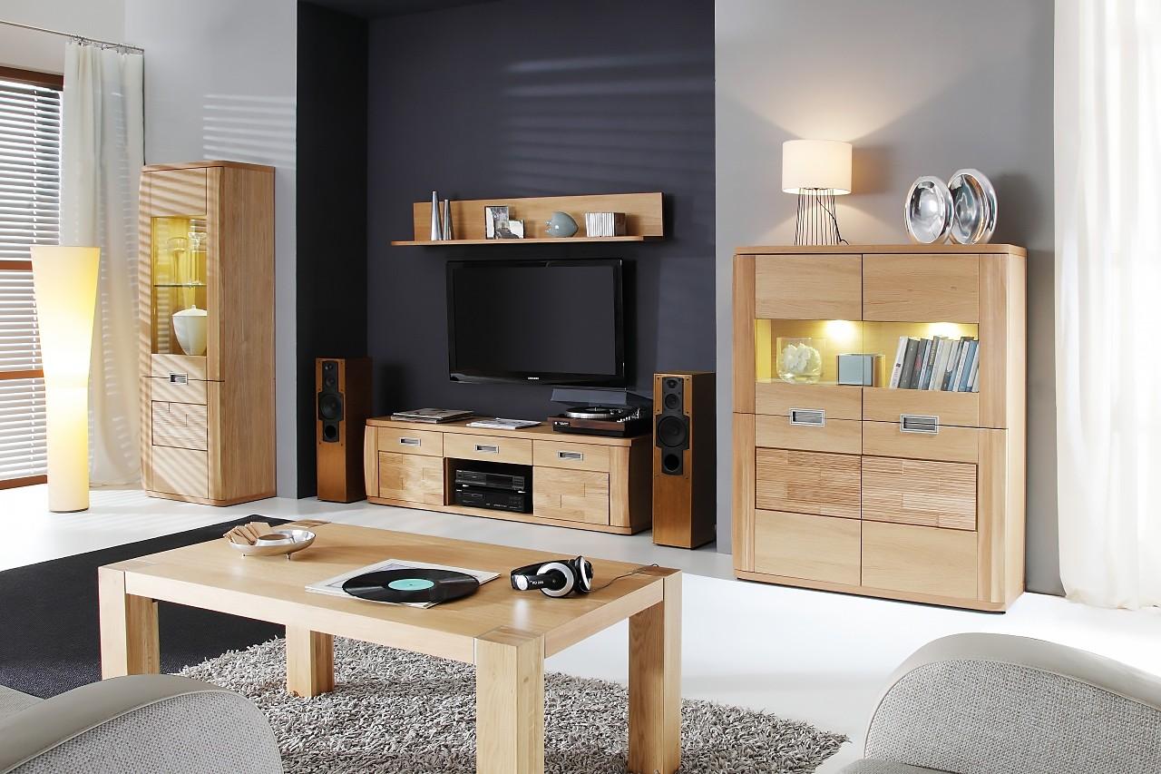 test1 Мебель в гостиную Natur (Paged Meble)