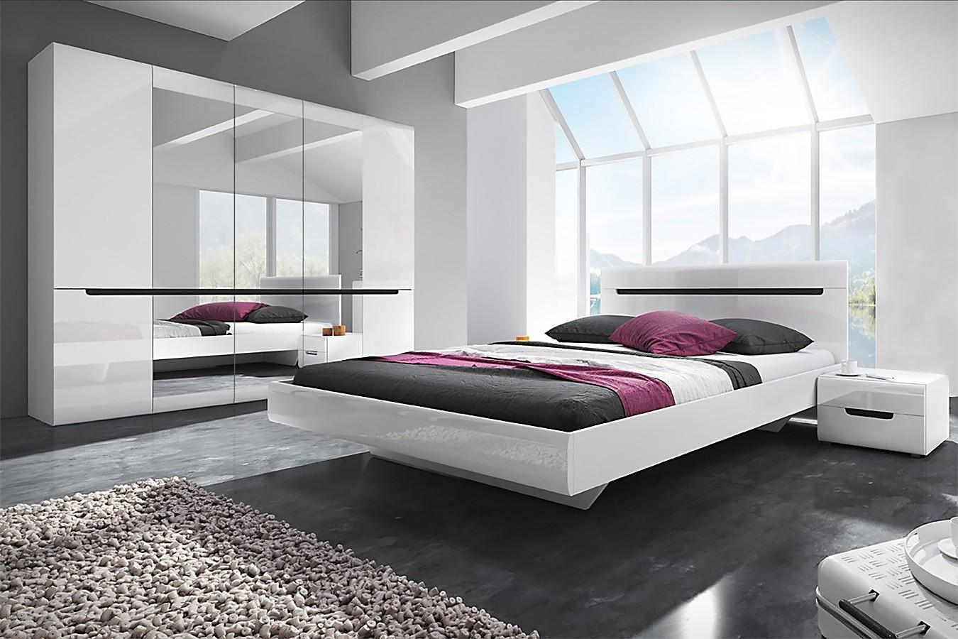 test3 Спальня Hektor в белом цвете
