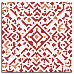 Столешница POD Mosaic Rouge 60x60