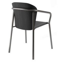 Кресло B-2896 Finn Metal Wood