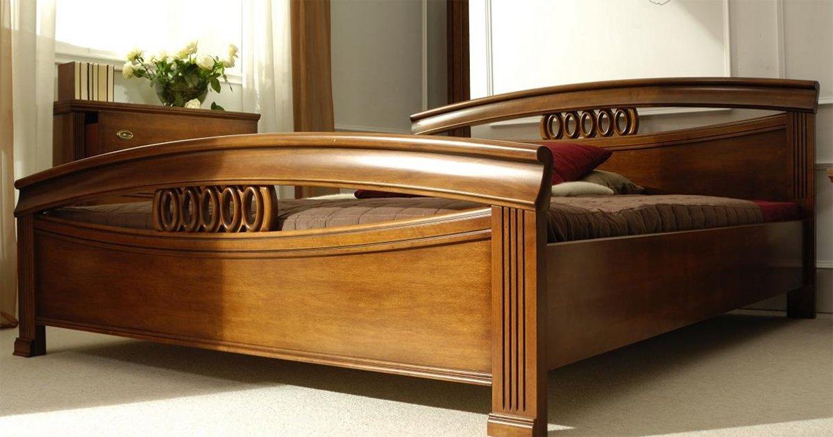 test1 Классическая кровать Rapsodia (Woodways, Польша)