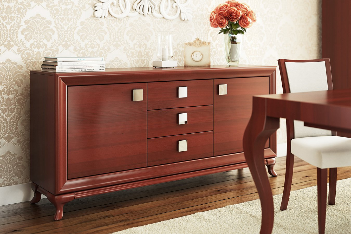 test3 Мебель в гостиную Vicenza (Paged, Польша)