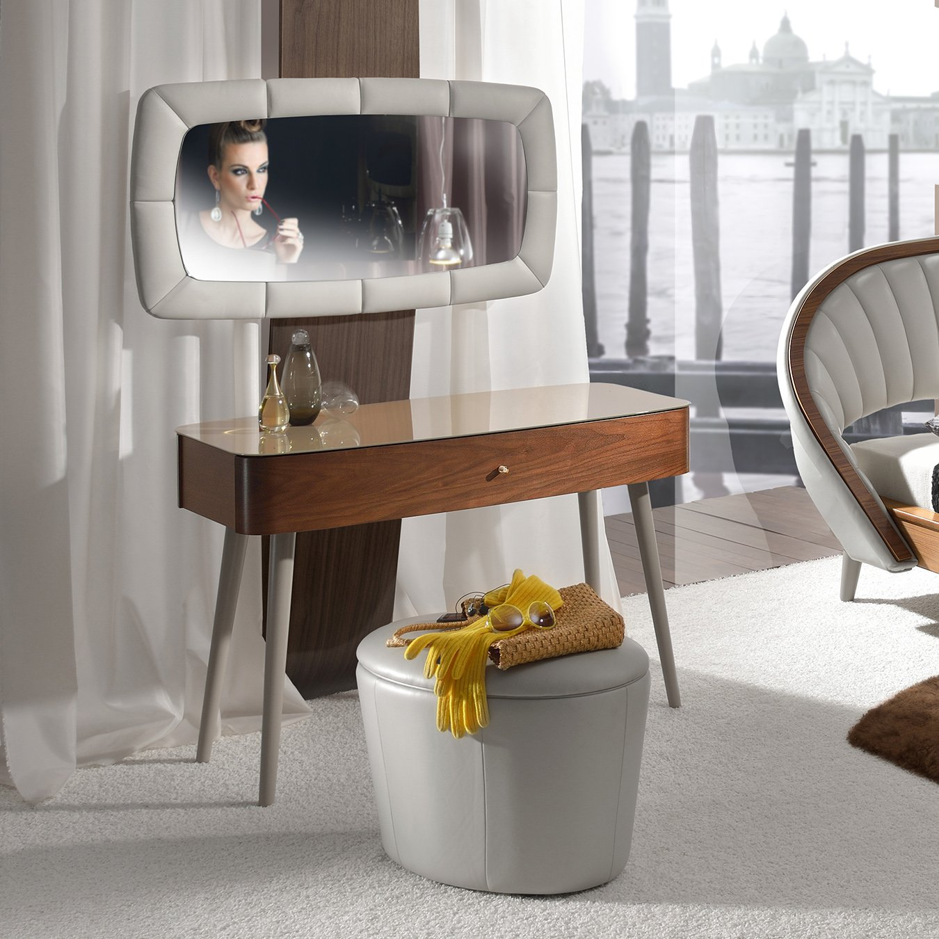 test3 Туалетный столик Dolce (Woodways)