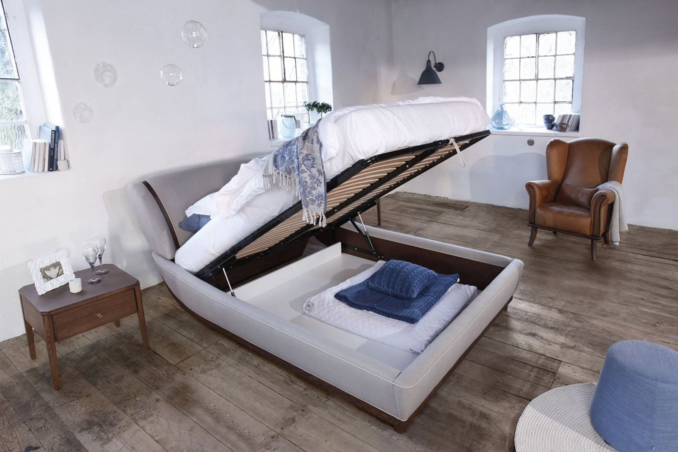 test1 Кровать Joy с подъёмным механизмом