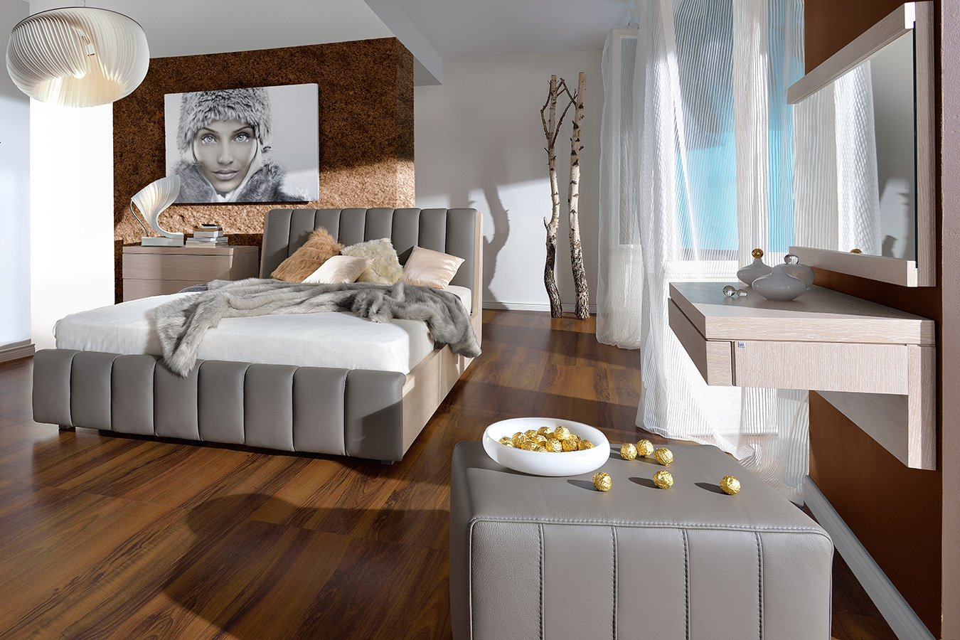 test3 Мебель в спальню Romance (Woodways, Польша)