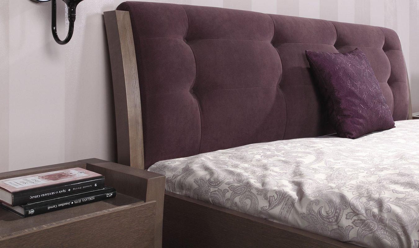 test3 Мягкое изголовье кровати Swing (Woodways)