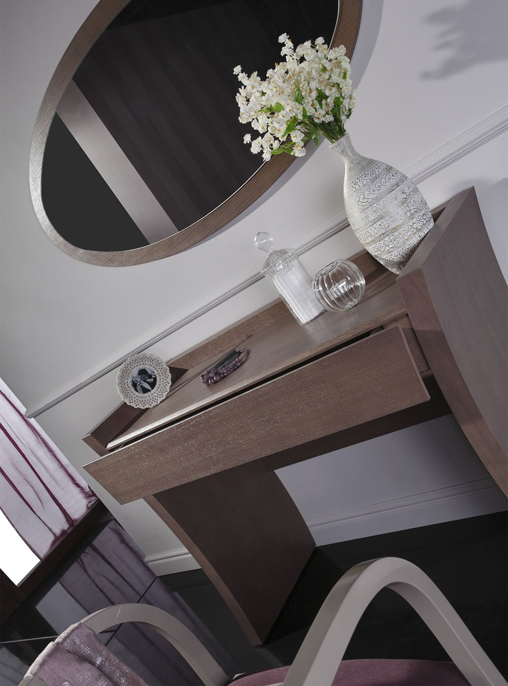 test1 Туалетный столик с зеркалом Swing