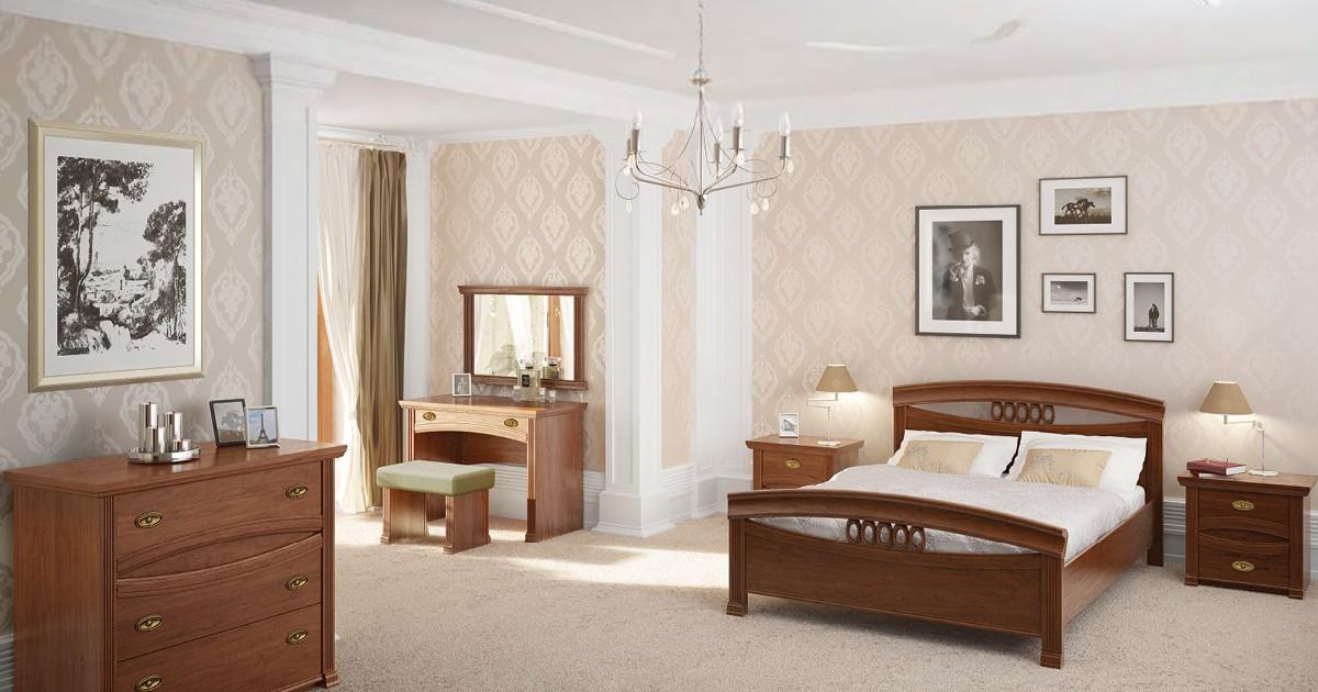 test1 Классическая спальня Rapsodia