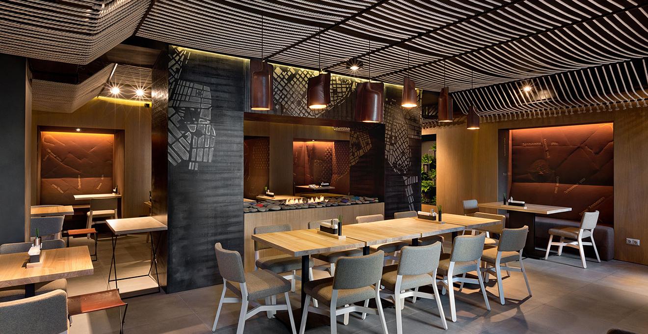 Дизайн ресторанов в стиле