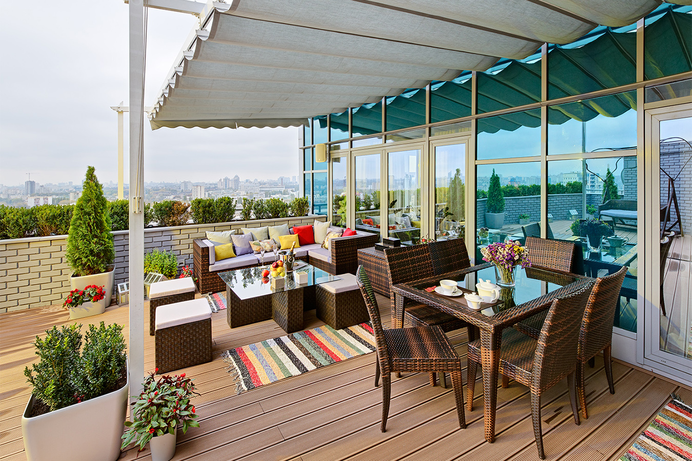Rooftop terrace apartment - hotelroomsearch.net.